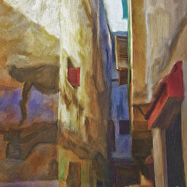 Ted Guhl - Alley in Tangier