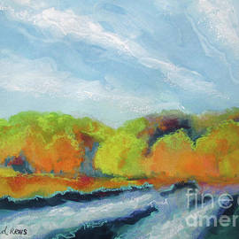 Kathy Braud - Along the River Fall Colors