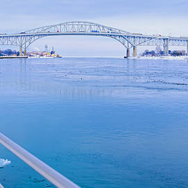 LeeAnn McLaneGoetz McLaneGoetzStudioLLCcom - America Blue Water Bridge Michigan