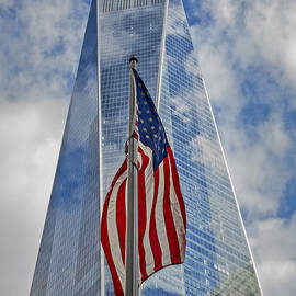 Susan Candelario - American Flag At World Trade Center WTC