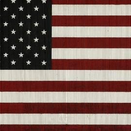 Chris Berry - American Flag Mural on a Tin Barn