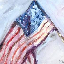 Donna Tuten - American Flag Painting
