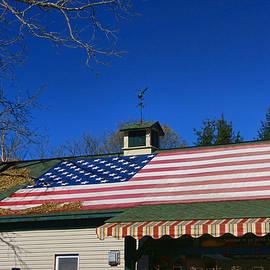 Allen Beatty - American Flag Roof