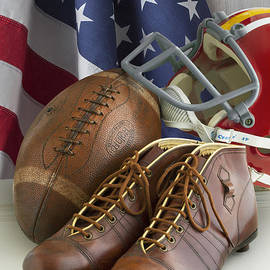 American Football and Flag SL229 - Simon Kayne