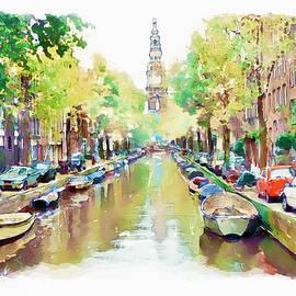 Marian Voicu - Amsterdam Canal 2