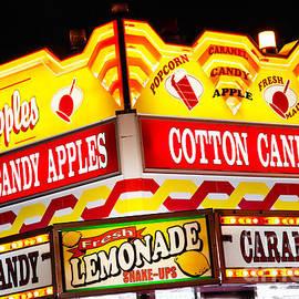 Amusement Park Concession Stand Food Sign - Paul Velgos
