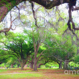 Kathleen K Parker - An Afternoon in City Park - New Orleans