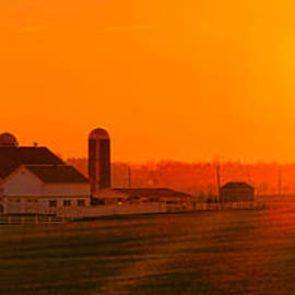 An Amish Sunset - Olivier Le Queinec