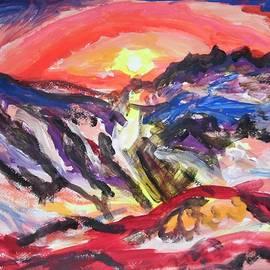Esther Newman-Cohen - An Autumn Sunset