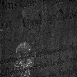 James Aiken - An image of Death on a Headstone