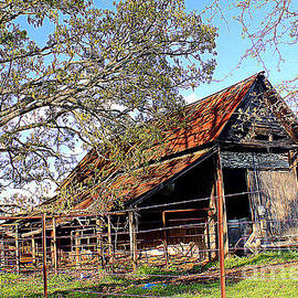 Kathy White - An Old Weathered Barn