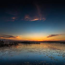 Allen Biedrzycki - Anahuac Sundown