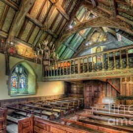 Adrian Evans - Ancient Chapel Interior