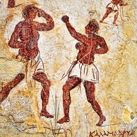 Brenda Kean - Ancient Greek Graffitti of Boxers