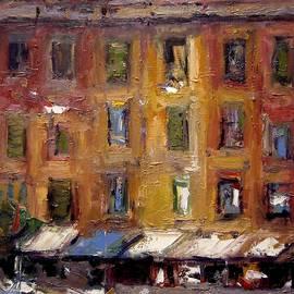 R W Goetting - Ancient windows X