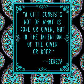 Scarebaby Design - Ancient Wisdom Seneca