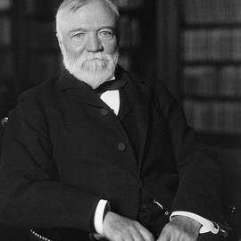 Andrew Carnegie Seated In A Library - War Is Hell Store