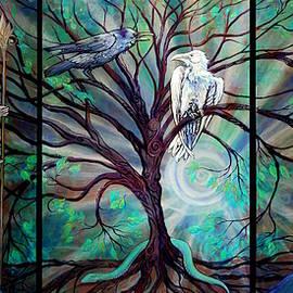 Katherine Nutt - Angel Fairy triptych