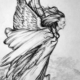 Georgia Doyle  brushhandle - Angel From Above