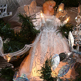 Angel Holiday Christmas Tree Scene - Panoramic Images