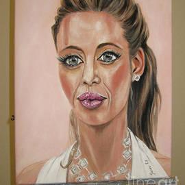Oksana Semenchenko - Angelina Jolie. Portrait