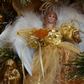 Angels Holiday Christmas Tree Scene - Panoramic Images