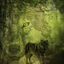 Maria Urso - Animal Sprits - The Wolf