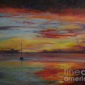 Barbara Moak - Another Sunset at Crystal Beach