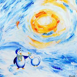 Art by Danielle - Happy Penguins