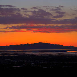 Kevin  Ellis - Antelope Island Sunset