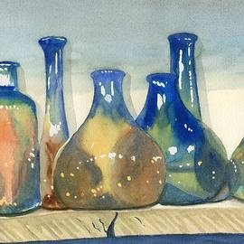 Antique Bottles - Marsha Elliott