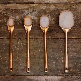 Kim Hojnacki - Antique Copper Measuring Spoons