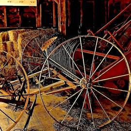 Elizabeth Tillar - Antique Plow