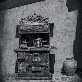 Sandra Selle Rodriguez - Antique Stove and Pots