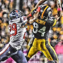 ANTONIO BROWN STEELERS ART 4 - Joe Hamilton