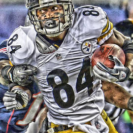 ANTONIO BROWN STEELERS ART - Joe Hamilton
