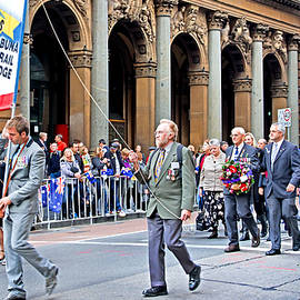 Miroslava Jurcik - Anzac Day March Royal Austr Engineers 7th Division