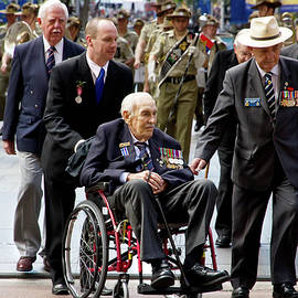 Miroslava Jurcik - Anzac Day March WW2 Merchants We Admire And Respect