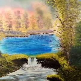 Lee Bowman - Appalachian Waterfall REV138
