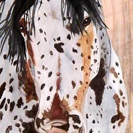 Debbie LaFrance - Appaloosa on Wood
