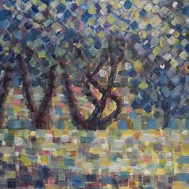 Jim Rehlin - Apple Orchard / Summer Sunset