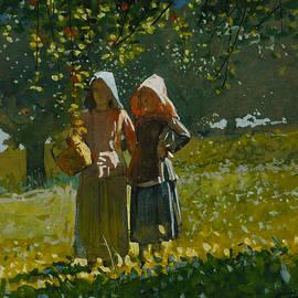Apple Picking - Winslow Homer