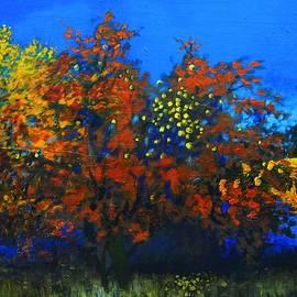 Vladimir Pokrovets - Apple tree in autumn