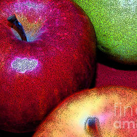 First Star Art  - Apples by jammer and jrr