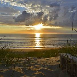 Barbara Ann Bell - April Sunrise in Nags Head
