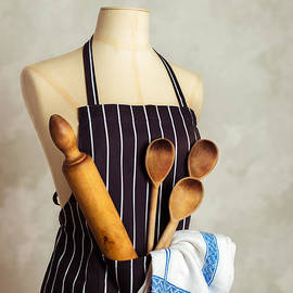 Apron With Utensils - Amanda And Christopher Elwell