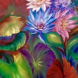 Marina Wirtz - Aqua Floral Iv