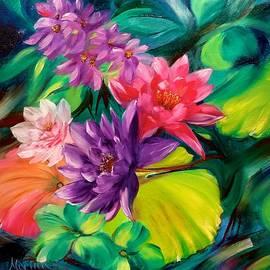 Marina Wirtz - Aqua Floral