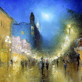 Igor Medvedev - Arbat Night Lights