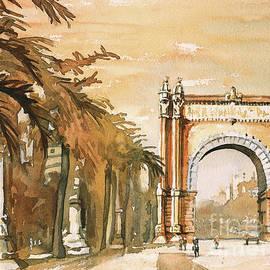 Ryan Fox - Arch- Barcelona, Spain